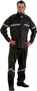 Nelson Rigg SR6000 Stormrider 2 Piece Black Unisex Motorcycle Rididng Rainsuit