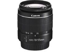 Objetivos Canon 18-55mm para cámaras