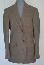 NEW Carolina Herrera Men's Wool Brown Suit, Size US38 Made In Spain