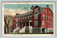 Peekskill NY, Military Academy Building, Vintage New York c1920 Postcard