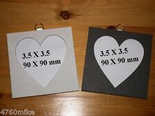 Small wooden Heart Photo Frame 3.5 X 3,5