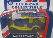 Matchbox 1/64 AFL  Australia  Aussie Rules West Coast Eagles