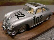 1/43 Brumm r144 Porsche 356 silber coupé Startn.102