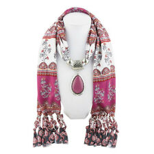 Fashion Women Pendant head scarf with pendant jewelry fashion scarves Best Sell