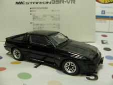 1/43 MITSUBISHI STARION 2600 GSR-VR (1988) diecast *suspension adjustable black