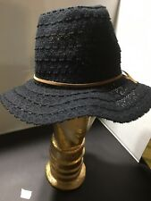 Peter Grimm, Ladies Black Floppy Hat, New, One With Tags
