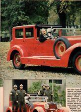 SP55 Clipping-Ritaglio 1987 Test Isotta Fraschini 8 A L'auto dei pompieri..