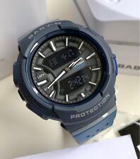 Casio Baby-G * BGA240-2A1 Runner Anadigi Dark & Navy Blue Watch for Women