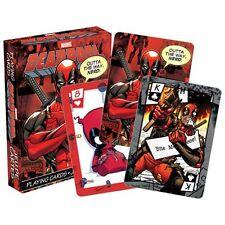 NIP Playing Cards * Deadpool * Marvel Comics Game Poker Assassin Sealed NEW