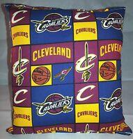 Cavaliers Pillow Cleveland Cavaliers Pillow NBA Handmade in USA CAVS