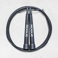 Rogue Fitness Black Speed Jump Rope 10' Feet Adjustable, Workout, Crossfit, NEW