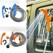 Portable 12V Car Water Shower Pump Set For Travel Trip Camp RV Caravan Boat Kit