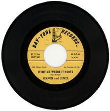 """VERNON AND JEWEL  """"IT HIT ME WHERE IT HURTS""""   NORTHERN SOUL / R&B"""