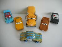 CARS 3 - set THUNDER HOLLOW Miss Fritter Cruz McQuenn Mattel Disney Pixar