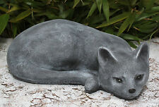 sculpture en pierre chats Figure tierfigur gartendeko résistant au gel