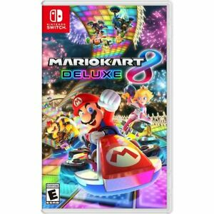 Mario Kart 8 Deluxe Nintendo Switch New Sealed Free Shipping