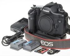 Canon EOS 5D DSLR +BG-E4 grip +2 batt., 2Gb CF, 17,5k clicks *good condition*