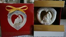 Vintage Lladro Ornament 2003 Our First Christmas 01016731 Mib, Spain