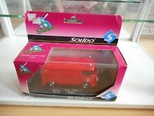 Solido VW Volkswagen Transporter T1 Pompier in Red on 1:43 in Box