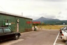 PHOTO  1994 AYRSHIRE CAR PARK AND GARAGE BRODICK GOAT FELL IN THE DISTANCE.