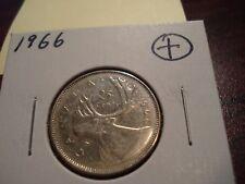 1966 - Canada 25 cent  - Canadian quarter -