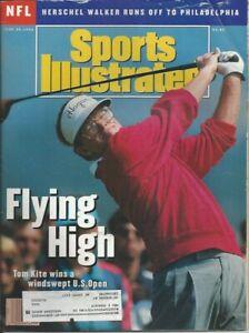 Sports Illustrated; Flying High; Tom Kite; June 29, 1992