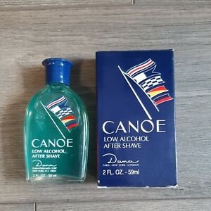 Canoe Low Alcohol After Shave 2 fl oz Splash On NIB Discontinued Hard to Find
