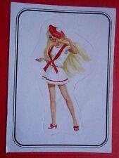 figurines prentjes cromos stickers picture cards figurine barbie 65 panini 1983