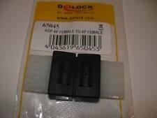 Delock Adapter 4 pin Molex Buchse-Buchse (65045)