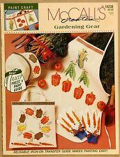 McCalls Gardening Gear Iron on Transfers incl VG Qld Copy Qikpost