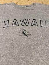 NWT QUIKSILVER EDDIE AIKAU WOULD GO 2015-16 WAIMEA BAY HAWAII MENS LRG GRAY T-