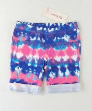 EPIC THREADS Pink Blue Multi color DYED BABY GIRLS Bottom Shorts SZ 2/2T SALE