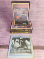 Quiet Music for Listening Readers Digest Three Cassettes Program Notes 1985 VTG