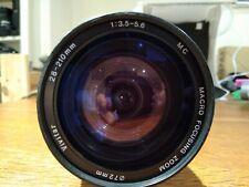 Pentax PK Mount Vivitar 28-210mm F3.5-5.6 MC Macro Focusing Zoom Lens