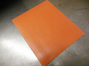 "NEW 3/16""Silicone Rubber Sheets 8.4""x10.1"" Food Grade High Temp gasket material"