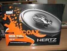 """HERTZ DCX 710.3 Coppia Coassiali Ovali 7x10"""" 3 Vie 300W NUOVE c/griglie GAR IT"""