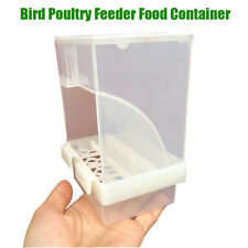 Automatic Bird Feeder No Mess Pet Seed Feeder Container For Parrot