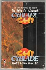 The Battle for Independents Cyblade Shi Limited Edition Box Set 1995 NEW Signed