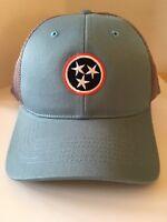 Volunteer Traditions TRISTAR Mesh Trucker Style Hat Cap Volunteer Tradition NWOT