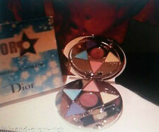 Discontinued 100% Genuine Dior Silver Star Eye shadow & Lipgloss Compact