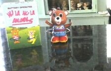 Battery Operated Rare Vintage Hula Hoop Bear W/Box Working Condition 1970/80's