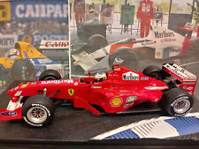 "1/18 Ferrari F399 Launch Michael Schumacher 2000 with ""Marlboro"" by Hotwheels"