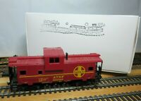 """AHM 5485E HO Scale EXTENDED VISION CABOOSE """"AT&SF 999246"""""""