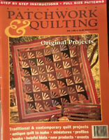 Austrailian Patchwork & Quilting Vol. 2,No. 6-Antique/Traditional Quilts To Make