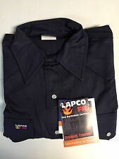 "Lapco Heavy Duty Khaki Green Work Shirt 20 X 36/"" 3Xl"