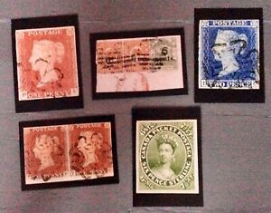 Stamp collector Mark Bloxham collectable postcards 2020 numbers 6-10