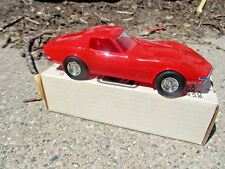 Promo by AMT/ERTL 1970 CHEVROLET CORVETTE LT-1 Monza Red 6108 Collector item