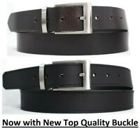 New Genuine Full Grain Leather Quality Men's Belt Australian Seller. 41017