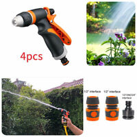 Quick Connection Multi Function Spray Gun Hosepipe Garden Hose Pipe Watering New