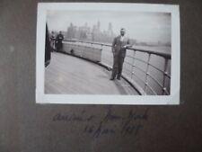 ALBUM PHOTOS ANCIENNES 1938 A 1945 VOYAGES  FRANCE